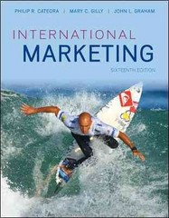 Loose-Leaf International Marketing with ConnectPlus Access Card 16th edition 9780077976934 0077976932