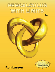Precalculus with Limits 3rd Edition 9781133947202 1133947204