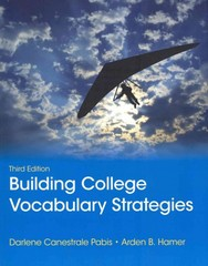 Building College Vocabulary Strategies 3rd Edition 9780321844255 0321844254