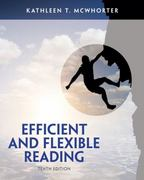 Efficient and Flexible Reading 10th Edition 9780205903597 0205903592