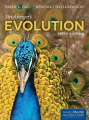 Strickberger's Evolution 5th Edition 9781449691929 1449691927