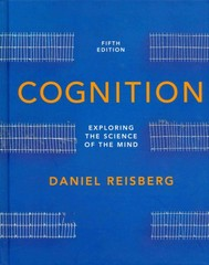 Cognition 5th Edition 9780393921762 039392176X