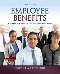 Employee Benefits 5th Edition 9780078029486 0078029481