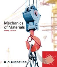 Mechanics of Materials 9th edition 9780133254426 0133254429