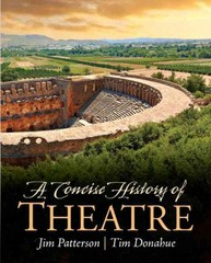 A Concise History of Theatre 1st Edition 9780205209828 0205209823