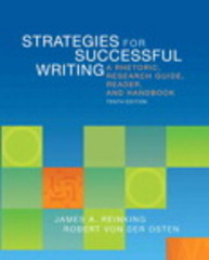 Strategies for Successful Writing 10th Edition 9780205883110 0205883117