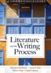Literature and the Writing Process 10th Edition 9780205902279 0205902278