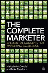 The Complete Marketer 1st Edition 9780749466763 0749466766