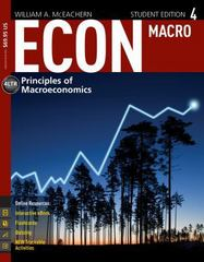 ECON: MACRO4 (with CourseMate, 1 term (6 months) Printed Access Card) 4th Edition 9781285423623 1285423623