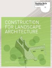 Construction for Landscape Architecture 1st Edition 9781780671352 1780671350