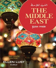 The Middle East 13th Edition 9781452241494 145224149X