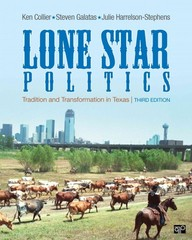 Lone Star Politics 4th Edition 9781483352763 1483352765