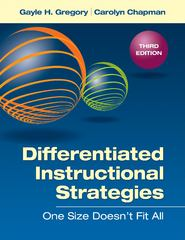Differentiated Instructional Strategies 1st Edition 9781452279473 1452279470