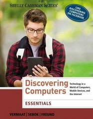 Discovering Computers 1st edition 9781285161785 1285161785