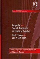 Property and Social Resilience in Times of Conflict 1st Edition 9781317074717 1317074718