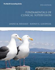 Fundamentals of Clinical Supervision 5th Edition 9780132835626 0132835622