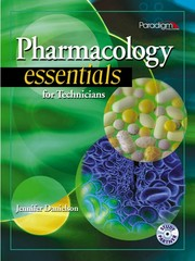 Pharmacology Essentials for Technicians with Study Partner CD 1st edition 9780763838706 0763838705