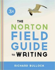 The Norton Field Guide to Writing 3rd Edition 9780393919561 0393919560