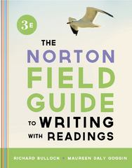 The Norton Field Guide to Writing, with Readings 3rd Edition 9780393919578 0393919579