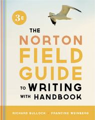 The Norton Field Guide to Writing, with Handbook 3rd Edition 9780393919585 0393919587