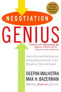 Negotiation Genius 1st Edition 9780553384116 0553384112