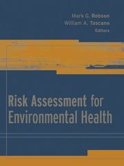 Risk Assessment for Environmental Health 1st Edition 9781118424063 1118424069