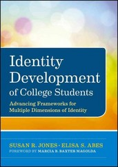 Identity Development of College Students 1st Edition 9780470947197 0470947195