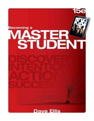 Becoming a Master Student 15th Edition 9781285193892 128519389X