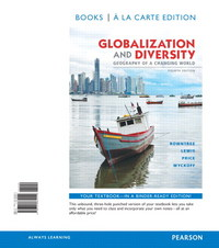 Globalization and Diversity 4th Edition 9780321862242 0321862244