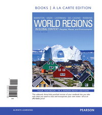 World Regions in Global Context 5th Edition 9780321862327 0321862325