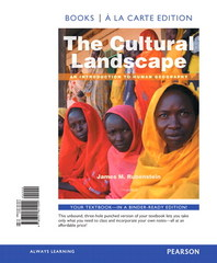 The Cultural Landscape 11th Edition 9780321871763 0321871766