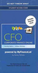 NEW Corporate Finance Online -- Access Card 1st Edition 9780132828949 0132828944