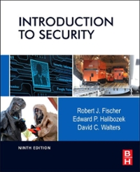 Introduction to Security 9th edition 9780123850584 0123850584