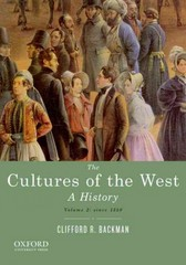 The Cultures of the West 1st Edition 9780195388916 0195388917