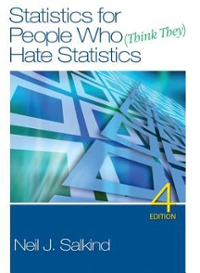 Statistics for People Who (Think They) Hate Statistics 5th Edition 9781483312880 1483312887