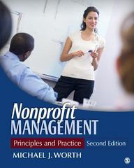 Nonprofit Management 4th Edition 9781483375984 1483375986