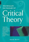 The Penguin Dictionary of Critical Theory 1st Edition 9780140513691 0140513698