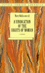 A Vindication of the Rights of Woman 2nd edition 9780486290362 0486290360