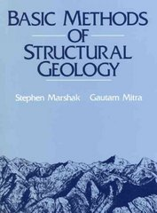Basic Methods of Structural Geology 1st Edition 9780130651785 0130651788