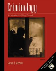 Criminology 5th edition 9780534601201 0534601200