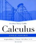 Calculus : Single Variable