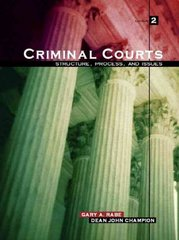 Criminal Courts 2nd edition 9780131189799 0131189794