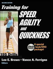 Training for Speed, Agility, and Quickness 2nd edition 9780736058735 0736058737