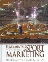 Fundamentals of Sport Marketing, 3rd Edition 3rd Edition 9781885693785 1885693788