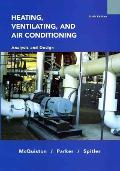 Heating Ventilating and Air Conditioning Analysis and Design