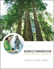 Business Communication 11th edition 9780073050362 0073050369