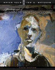 Fundamentals of Human Neuropsychology 6th Edition 9781429281461 1429281464