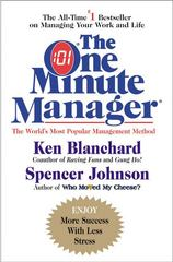 The New One Minute Manager 1st Edition 9780062389152 0062389157