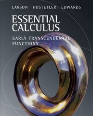 Essential Calculus 1st edition 9780618879182 0618879188