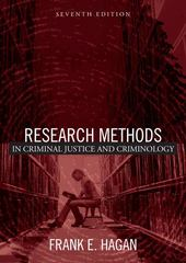 Research Methods in Criminal Justice and Criminology 7th Edition 9780205447398 0205447392